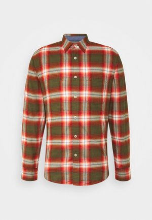KENT COLLAR LONG SLEEVE CHEST - Skjorter - multi/brick