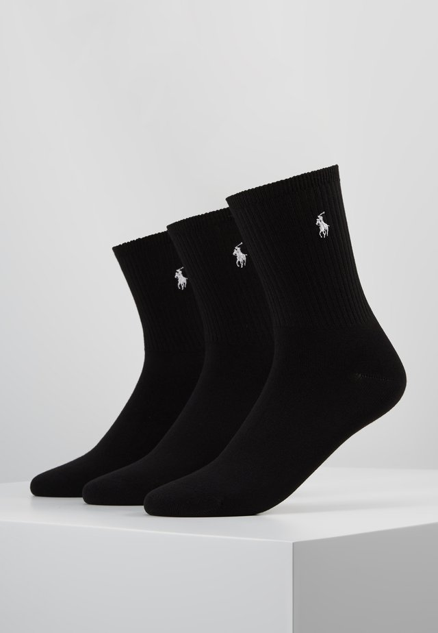 SUPERSOFT SOCKS 3 PACK - Strømper - black