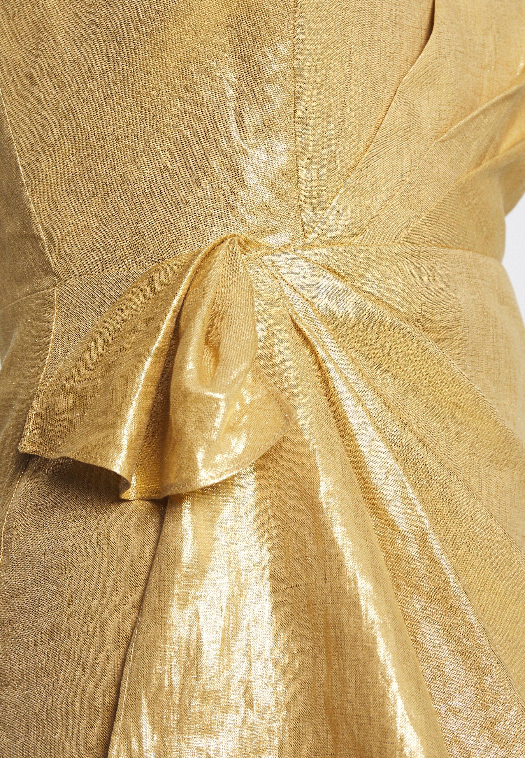 sandro Cocktailkleid/festliches Kleid or/gold