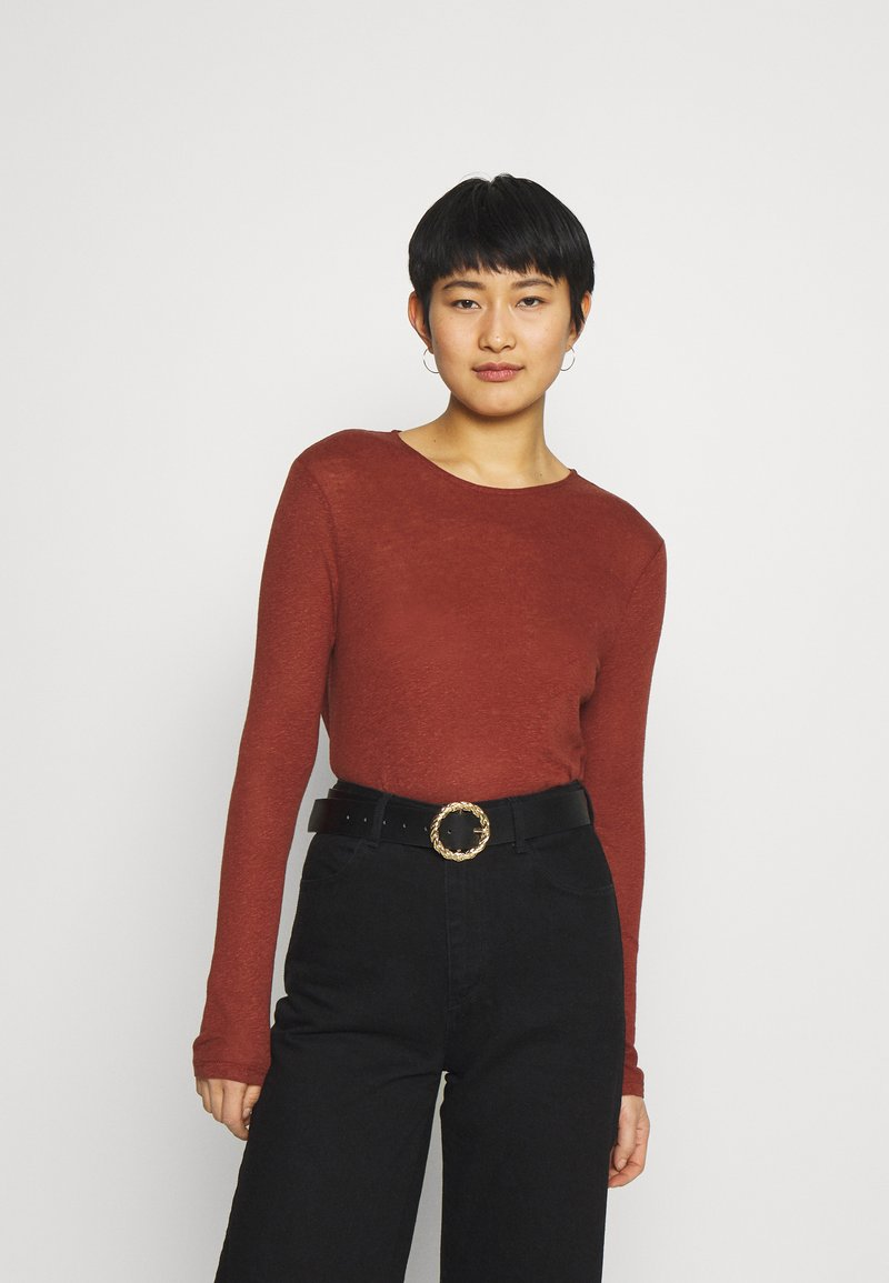 Anna Field - Long sleeved top - brown