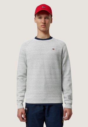 DIR C - Stickad tröja - med grey mel