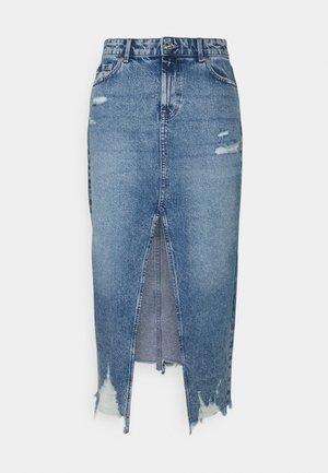 ONLEMMA LIFE LONG  - Jeansnederdel/ cowboy nederdele - medium blue denim
