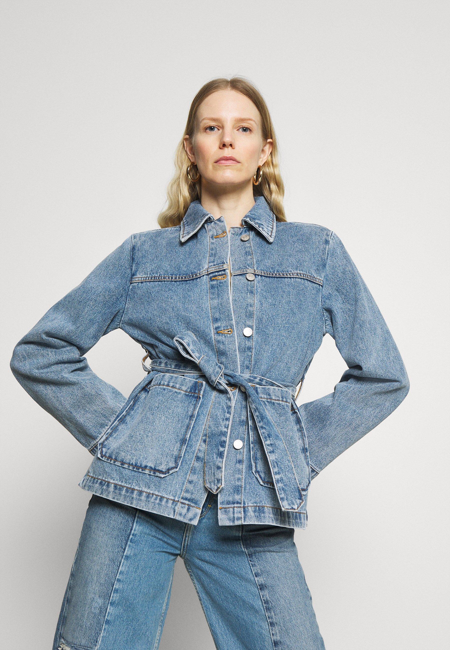 Women INDOOR YVIS - Denim jacket