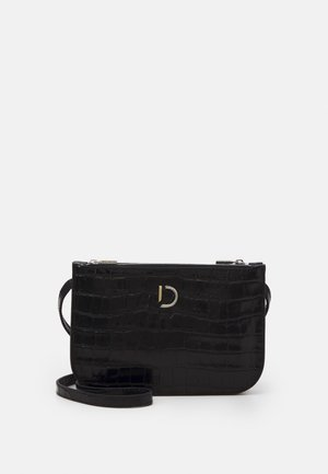 MARCIA SMALL DOUBLE BAG - Skuldertasker - black