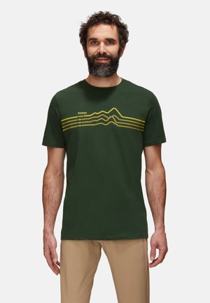 SEILE  - Print T-shirt - green, evergreen