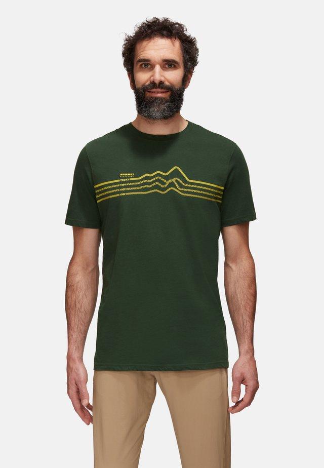 SEILE  - T-shirt con stampa - green, evergreen