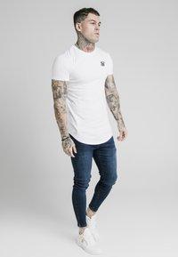 SIKSILK - SKINNY  - Jeans Skinny Fit - dark-blue denim - 1