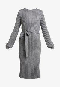 Vero Moda - VMSVEA - Jumper dress - medium grey melange - 3
