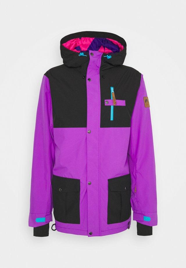 YEH MAN JACKET  - Veste de ski - purple/black