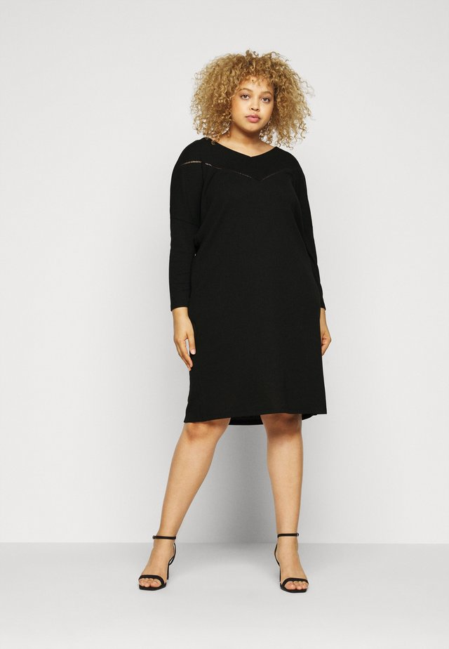 CARCAMILIE KNEE DRESS - Vapaa-ajan mekko - black