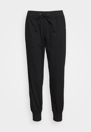 UTILITY JOGGER - Tracksuit bottoms - true black