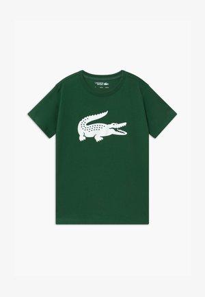 BIG LOGO UNISEX - Print T-shirt - green/white