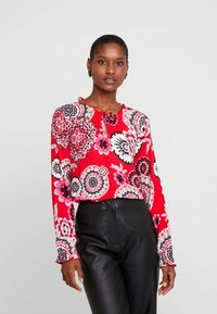 comma casual identity - Blouse - red - 0