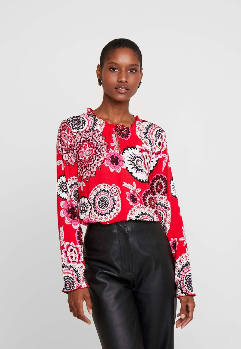 comma casual identity - Blouse - red