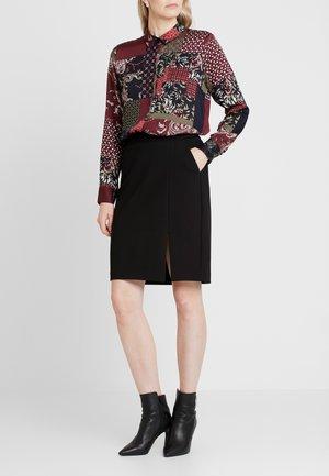 KURZ - Pouzdrová sukně - black