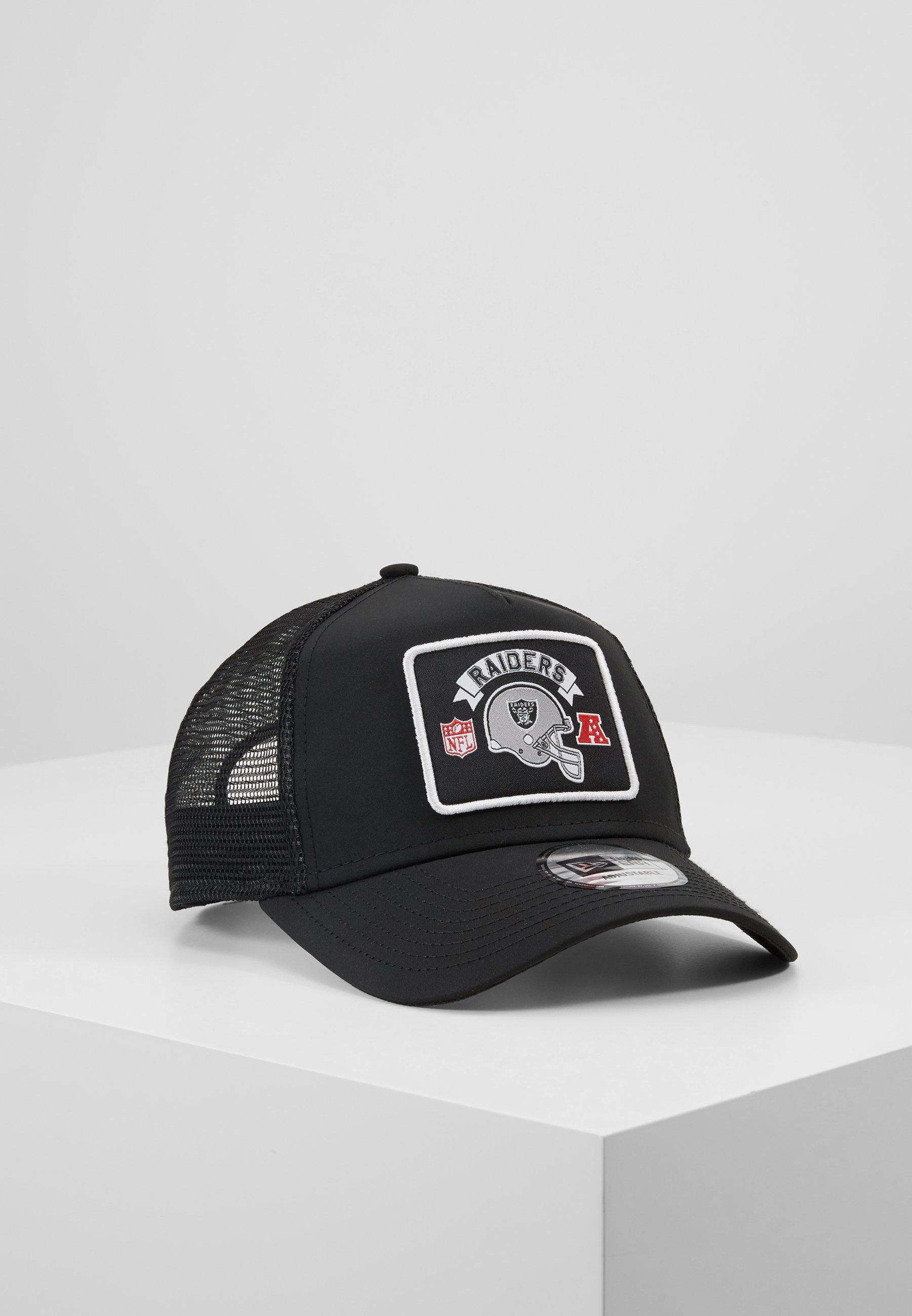 New Era NFL WORDMARK TRUCKER Cap black/schwarz