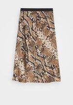 RAJA  - Pencil skirt - creamy camel