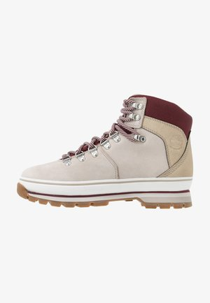 EURO HIKER WP BOOT - Lace-up ankle boots - light beige