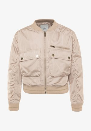 Bomber bunda - cream