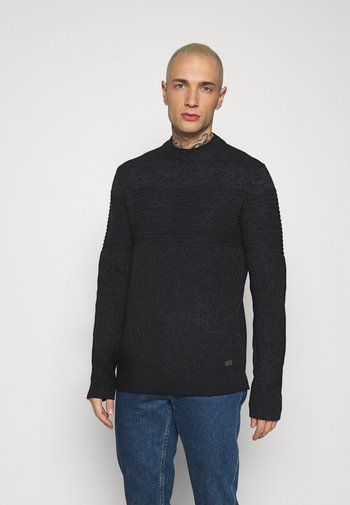 ONSLAZLO SOLID MOCK NECK