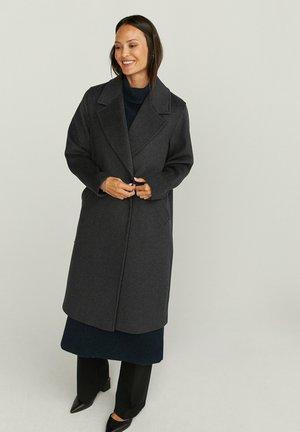 Classic coat - dk grey mel