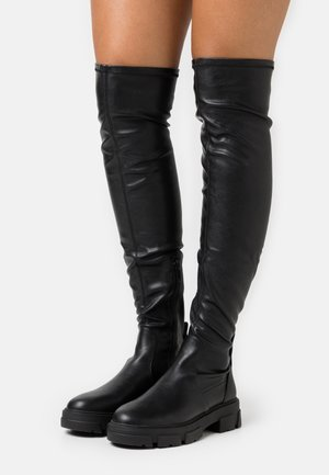 DWERADIA - Over-the-knee boots - black