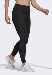 adidas Performance - DESIGNED TO MOVE BIG LOGO SPORT LEGGINGS - Collants - black - 3