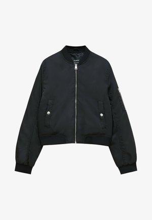 BASIC  - Bomber bunda - black