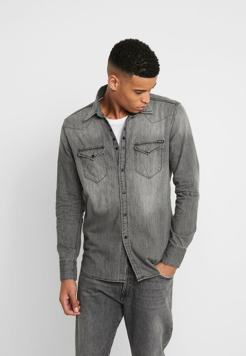 Replay - Shirt - dark grey