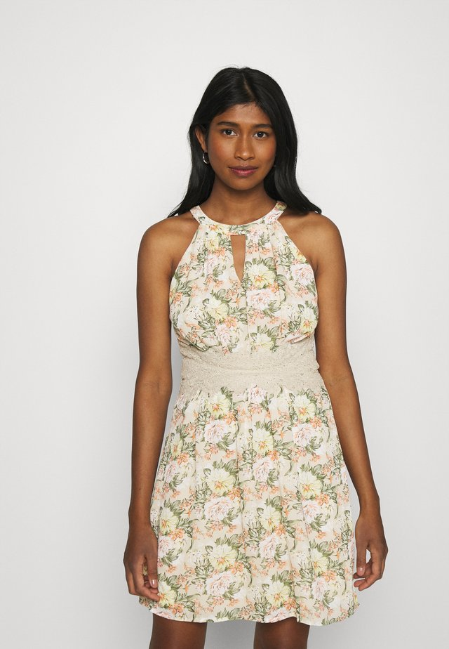 VIMILINA FLOWER DRESS - Cocktail dress / Party dress - sandshell
