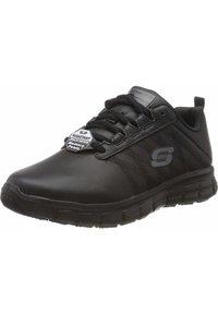 Skechers - WORK SURE TRACK - Sneakers laag - black - 1