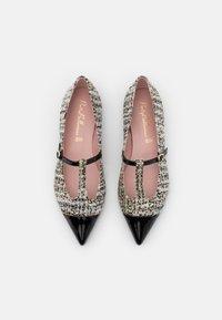 Pretty Ballerinas - SHADE - Ankle strap ballet pumps - anthracite - 4