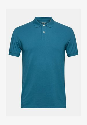 Polo shirt - petrol blue