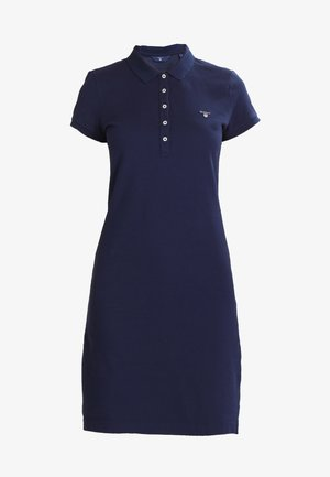 Korte jurk - evening blue