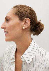 Mango - STRIPE - Button-down blouse - blanc - 3