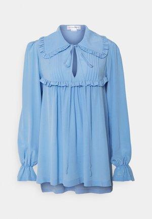 GATHERED DETAIL BLOUSE - Blouse - cornflower blue
