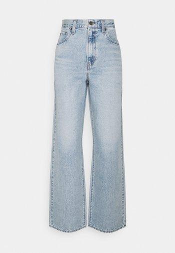 HIGH WAISTED STRAIGHT - Jeans baggy - charlie boy