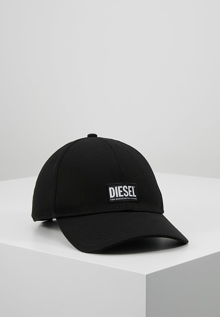 Diesel - CORRY HAT UNISEX - Lippalakki - black