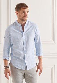 Superdry - Formal shirt - blue bonnet stripe - 0
