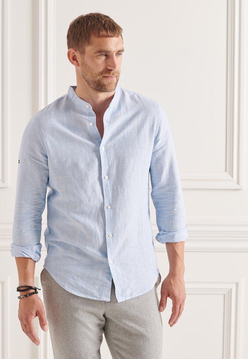 Superdry - Formal shirt - blue bonnet stripe