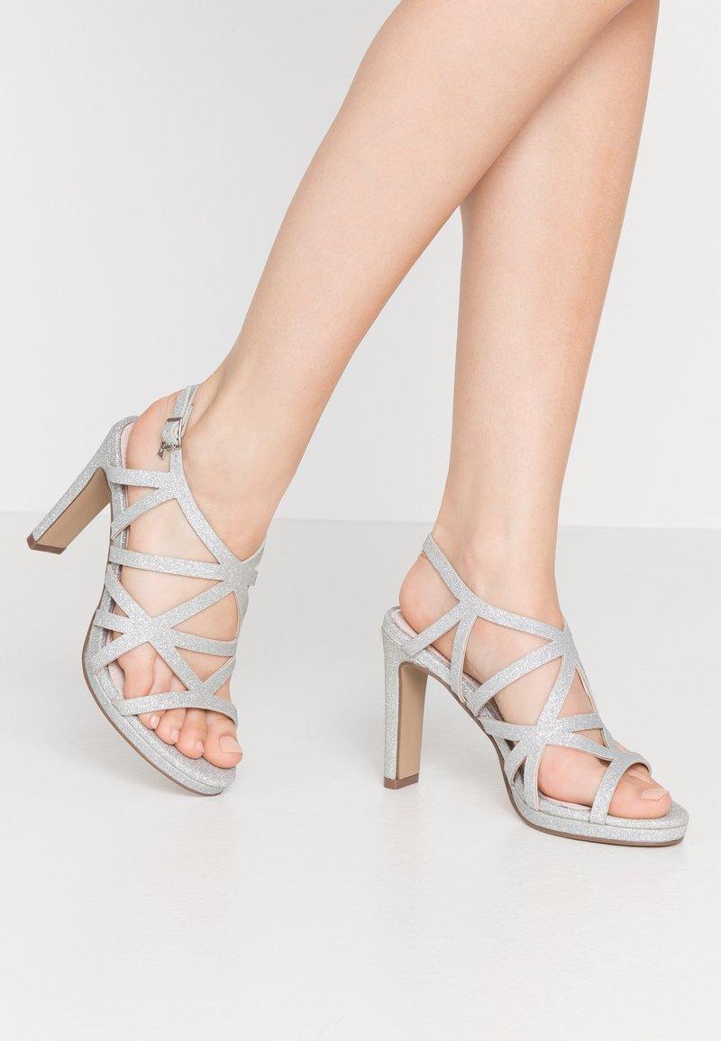 Mariamare - Højhælede sandaletter / Højhælede sandaler - silver