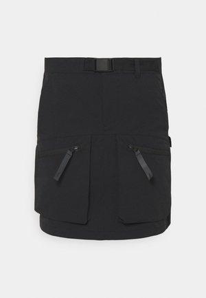 HURST SKIRT - Falda larga - black
