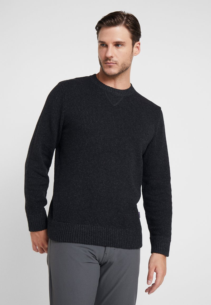 Patagonia - OFF COUNTRY CREWNECK - Strikpullover /Striktrøjer - forge grey