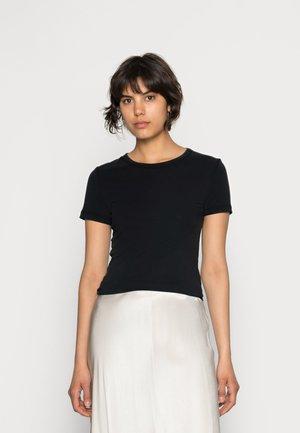 LILA - Jednoduché triko - black