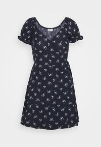 Hollister Co. - SPRING FLOATER WRAP DRESS - Day dress - navy floral - 4