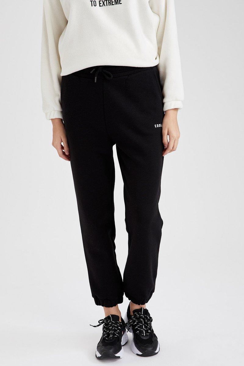 DeFacto Fit - Pantalones deportivos - black