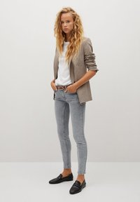 Mango - KIM - Jeans Skinny Fit - denim grey - 1