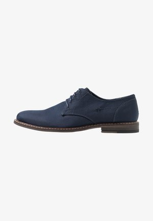 JIMMY - Stringate eleganti - navy