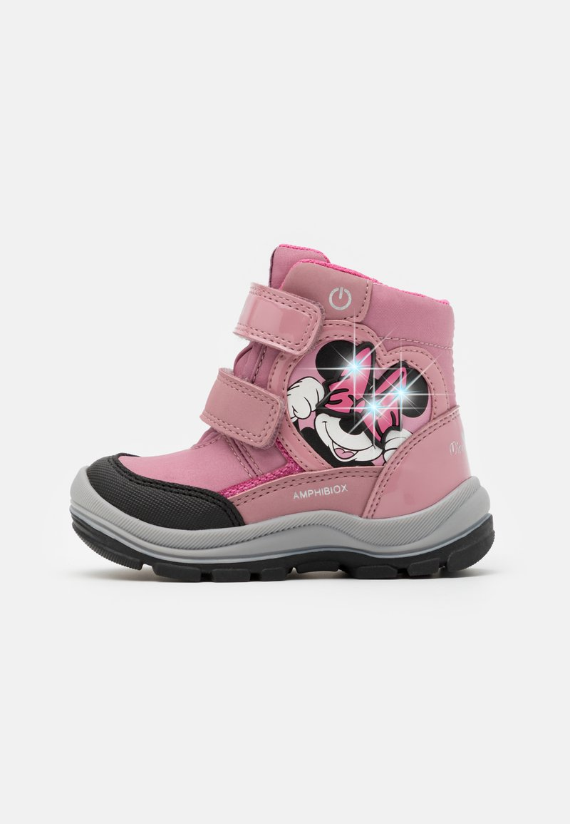 Geox - DINSEY FLANFIL GIRL ABX - Winter boots - rose