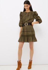 Liu Jo Jeans - Jersey dress - olive - 0
